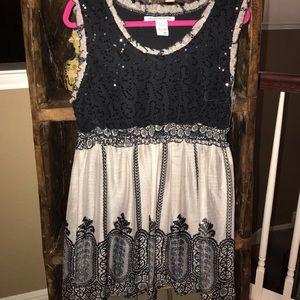 American rag sequin dress
